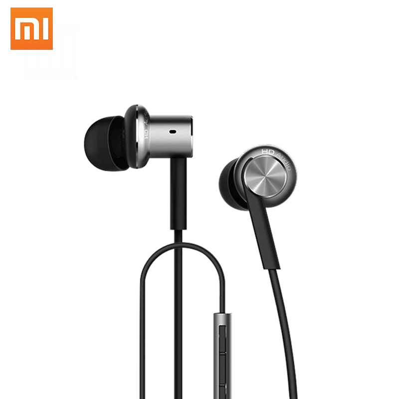 2017 NOW Original Xiaomi Hybrid HD In Stock Earphone with Mic Remote Headset for Xiaomi Redmi Red Mi Mobile Phone In-Ear original xiaomi xiomi mi hybrid earphone 1more design in ear multi unit piston headset hifi for smart mobile phone fon de ouvido