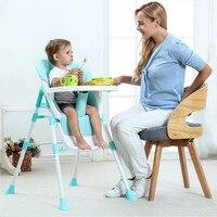 Регулируемый Детский Стульчик для кормления, детские стулья для кормления, переносное детское обеденное кресло, детский защита для стола, с