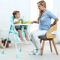 Adjustable Baby Feeding High Chair For Children Feeding Chairs Portable Baby Eat Dining Chair Baby Safety Table Chairs combo