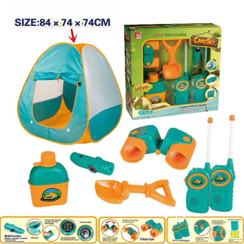 6 pièces/ensemble semblant jouer bébé plage jeu jouets vente chaude jouet tentes classique jouets Simulation médecine pour fille et garçon enfants cadeau