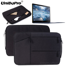 Unidopro Multifunctional Sleeve Briefcase for Google Chromebook Pixel 12.85 WQXGA Touchscreen Laptop Mallette Carrying Bag Cover(China)