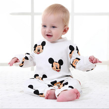 Newborn Baby Clothes Cartoon Baby Rompers Long Sleeve Baby Girls Clothing Spring Baby Boy Jumpsuits Roupas Bebes Infant Costume(China)