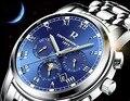 New R brand Switzerland automatic mechanical Men watch Moonphase hollow Backside Tourbillon Man all working Chronograph Clocks
