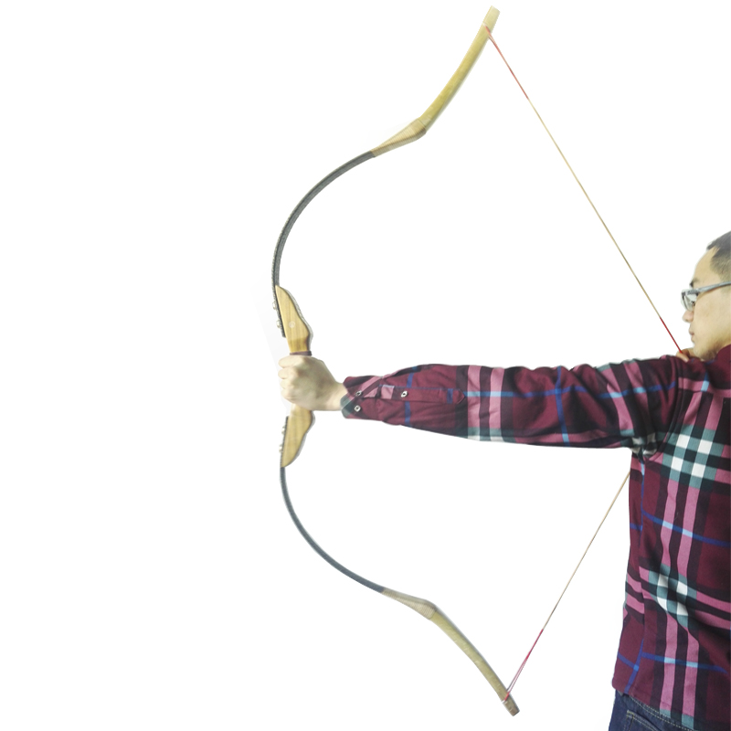 60 Archery Hunting Takedown Recurve Bow Wood Traditional Bow with black walnut wood 30lbs-55lbs wood in traditional architecture