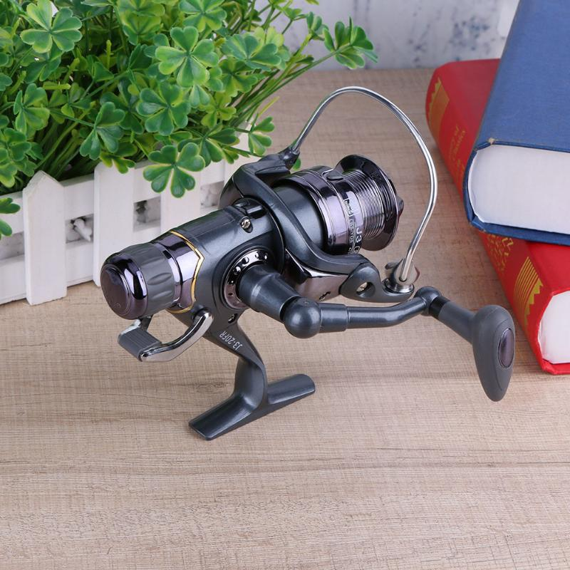 Fishing Reel Carp Spinning Reel Carbon Front and Rear Drags 3 Types Metal Spool Sea Boat Reel Double Knobs Suitable Carp Fish