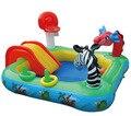 Большой ребенок Надувной Бассейн с Надувные Слайд Бассейн Ребенок Ребенок Дети Младенческой Ванна надувной детский бассейн