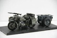 Классическая модель игрушки 1:24 BM W R75 Второй мировой войны немецкий, Yangtze 750 колесная мотоциклетная коляска для мальчика подарок, украшение, коллекция