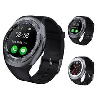 High Qualty Touch Screen Sports Smartwatch 1.2 Inch Heart Rate Sleep Monitoring Bluetooth 4.0 Smart Watch Sport Wearable Device