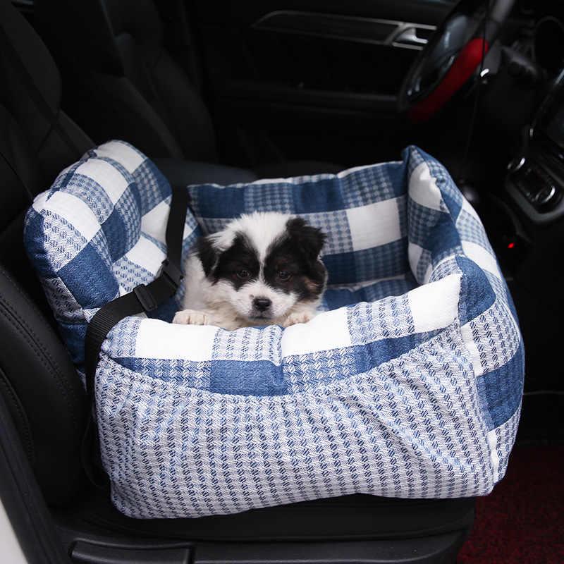 Luxury Plaid Soft Warm Car Dog Pet Seat Cover Pet Dog Carrier Cat Mat Blanket Hammock Cushion Protector Pet Supplies