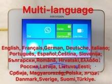 25-языков Hikvision DS-KH8301-A (DS-KH8301-WT) Крытый видео 7 дюймов Мониторы, нет камеры, Micro SD слот для карт, проводной домофон