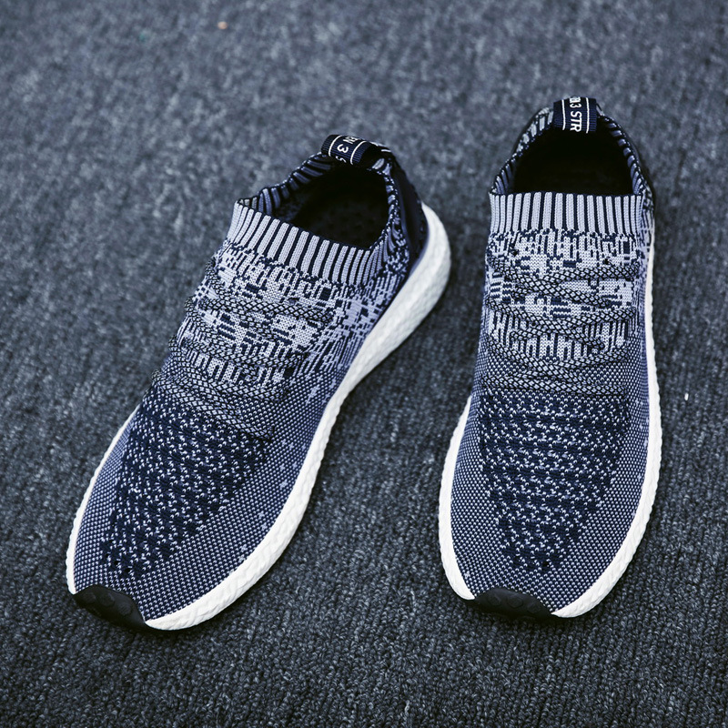 Men Athletic Shoes Breathable Sports Running Shoes Portable Network Tide British Flying Shoes Running Male Shoes Fabric SneakersMen Athletic Shoes Breathable Sports Running Shoes Portable Network Tide British Flying Shoes Running Male Shoes Fabric Sneakers
