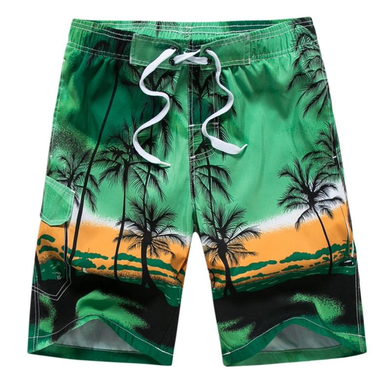 6XL Plus Size Swimwear Men 2019 Summer Holiday Swimming Trunks Print Swimsuit Beach Wear Bermuda Short Surf Board Badehose Sunga