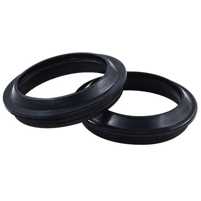 US $5 69 40% OFF|Motorcycle 48 58 10 Front Fork Damper Oil Dust Seals For  KAWASAKI KX125 KX250F KLX450R KXE450F KXE 450F For KTM 250 SX SX250 640-in