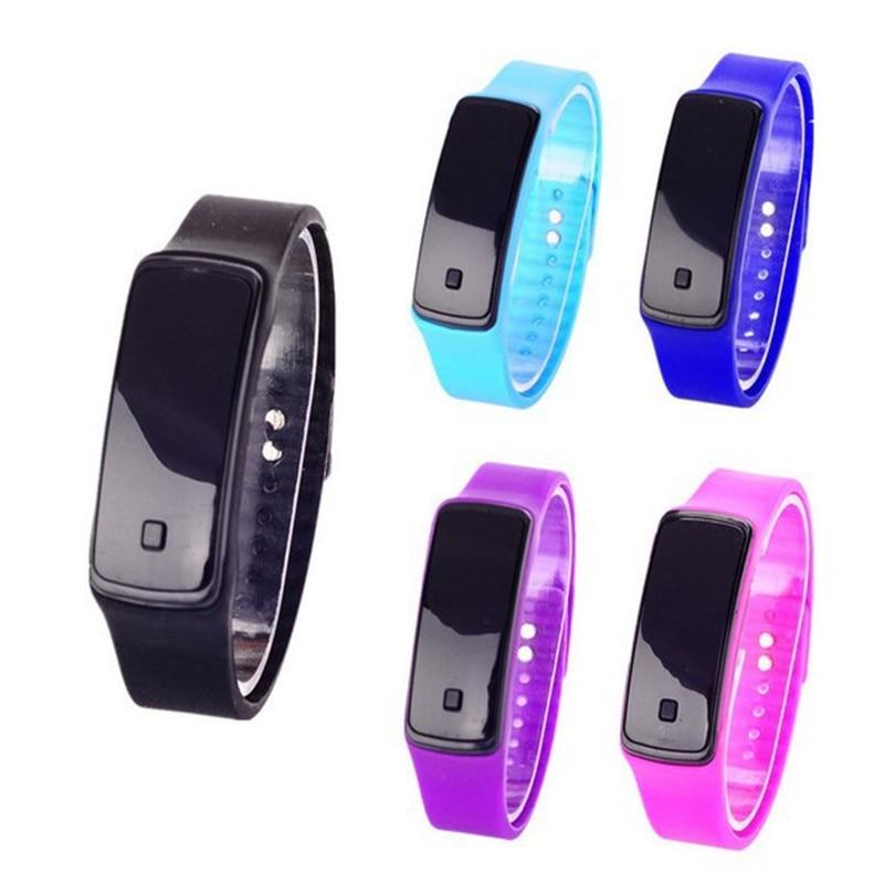 FUNIQUE moda niños reloj digital mujeres hombres reloj electrónico - Relojes para niños
