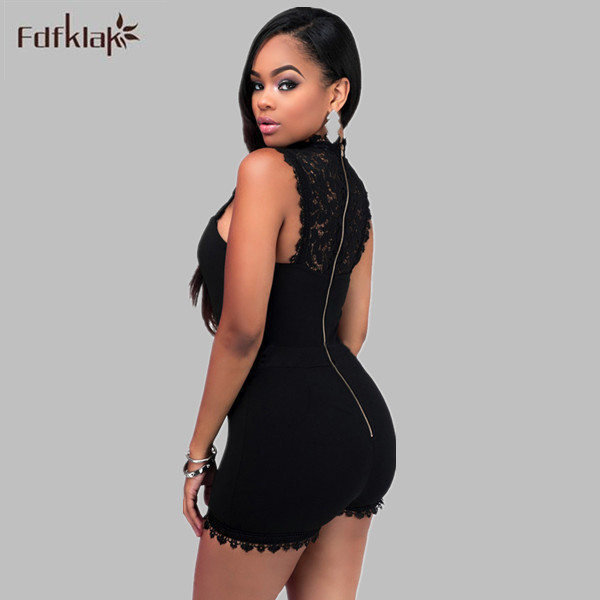 199fd58f54283 African Jumpsuit Sexy Shorts Overalls Women Jumpsuits Summer Rompers Plus  Size Black Playsuit Ladies Bodycon Bodysuits 3XL