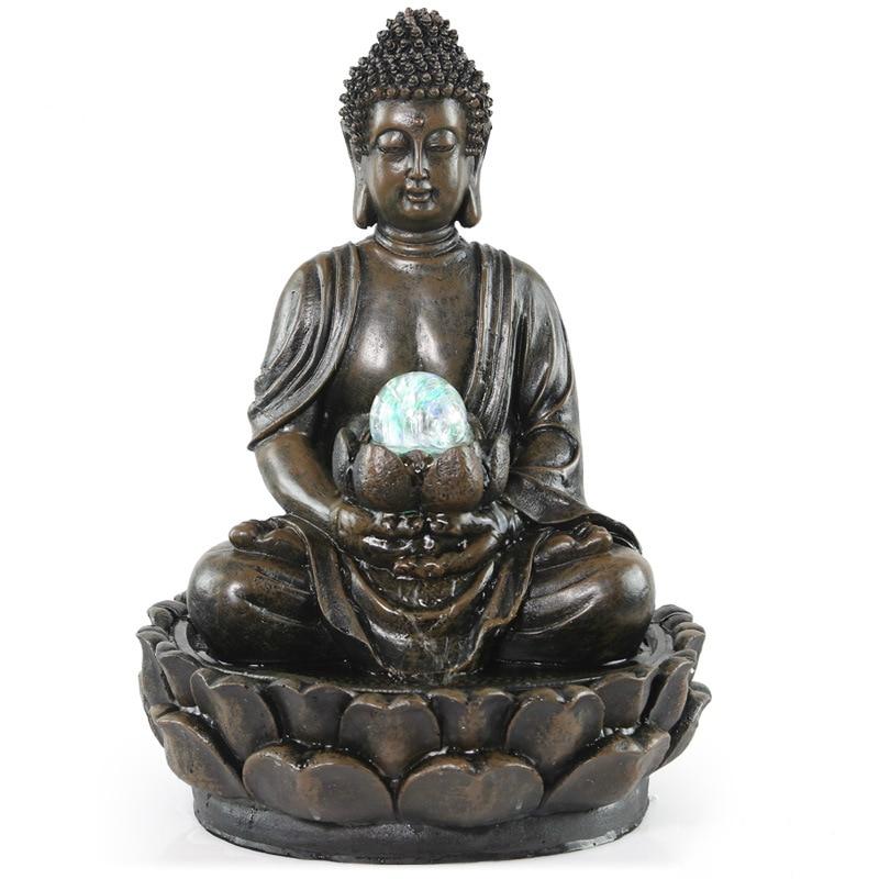 Buy medallion of buddha sakyamuni buddha for Decoration jardin statue