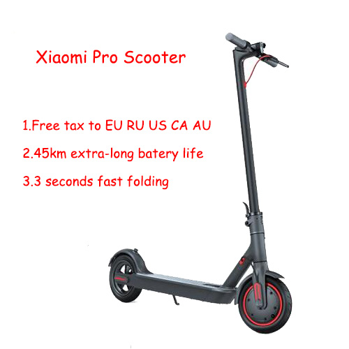 Xiaomi Folding Electric Scooter Pro 3 speed mode 300W Motor