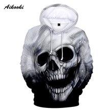 Crânio quente 3d hoodies crânio hoodie moletom moletom masculino feminino hipster hip hop crânio roupas de treino esportivas