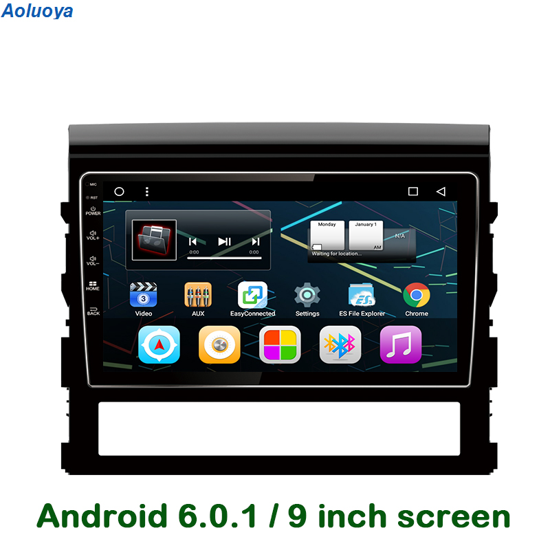 Vertical Screen Android Car DVD Stereo Radio For Toyota Land Cruiser Prado 2016+