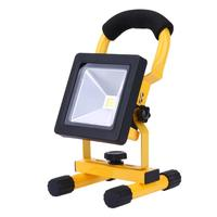 Portable Floodlight LED rechargeable emergency light 10w/20w Charging LED flood light IP65 waterproof flood light LED