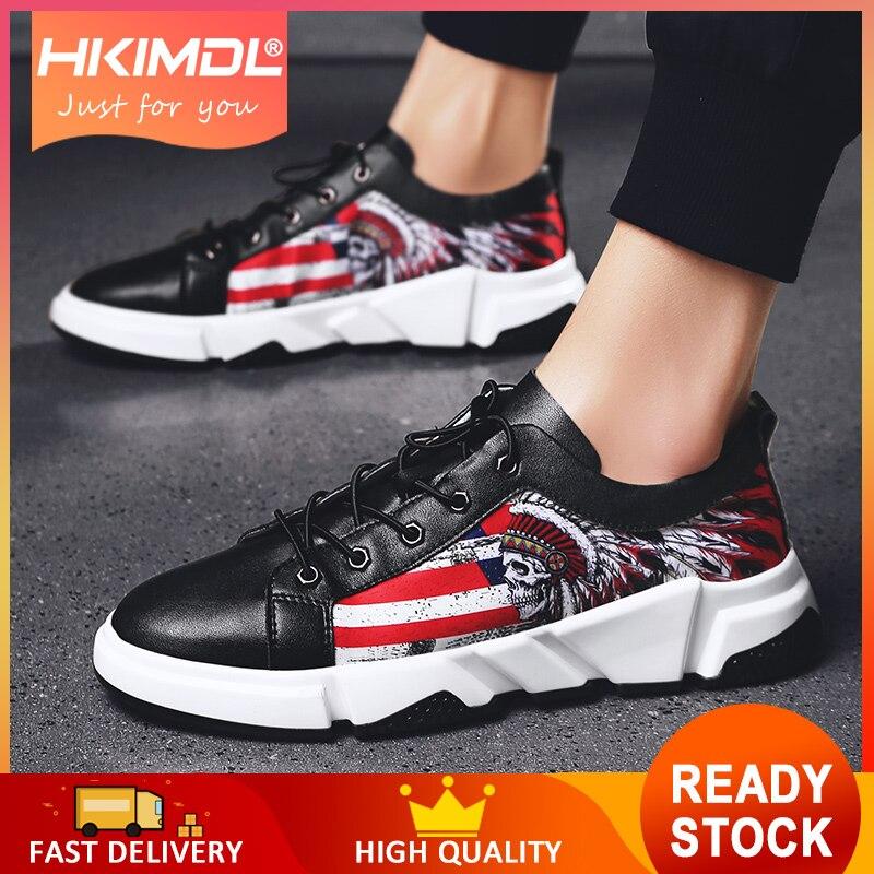 HKIMDL 2019 nouveaux hommes chaussures d'été de mode baskets chaussures décontractées respirantes à lacets de haute qualité baskets hommes chaussures en maille