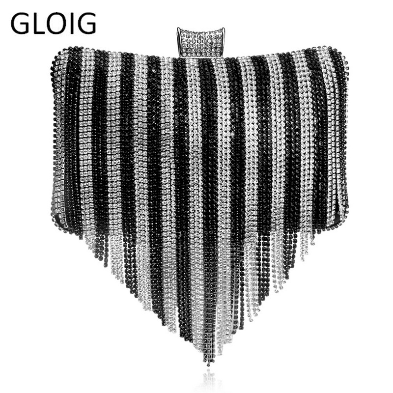 Женские вечерние сумочки со стразами GLOIG, маленькие свадебные сумочки разных цветов, клатч с кристаллами, сумка на плечо