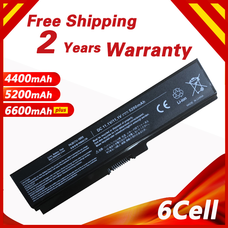 Battery For Toshiba PABAS117 PABAS118 PABAS178 PABAS227 PABAS228 PA3817U-1BRS PA3817U-1BAS P3817 Satellite L600 L600D L650 L670D