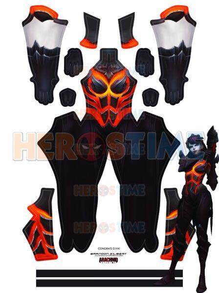D.Va Game Costume 3D Printed Spandex Destroyer Fuel Costume D.Va Superhero Zentai Cosplay Suit Custom Made