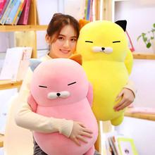 60cm Cute Plush Toy Cat Lovely Dolls Kids Appease toys Fat Cat toys Pillow Birthday Christmas Gift For Children Girls candice guo super cute plush toy sailor moon luna cat car chair headrest neck pillow belt cover birthday christmas gift 1pc