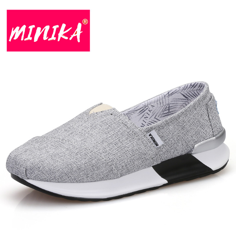 MINIK Amoccasin Loafers For Women New Design Shallow Mouth Slip On Casual Shoes Women Comfortable Weight Loss Flat Shoes Women siketu sweet bowknot flat shoes soft bottom casual shallow mouth purple pink suede flats slip on loafers for women size 35 40
