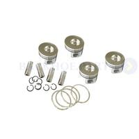 Piston Kit & Ring Set YM129001 22081 YM129001 22500 for Yanmar 4TNE88 4D88E