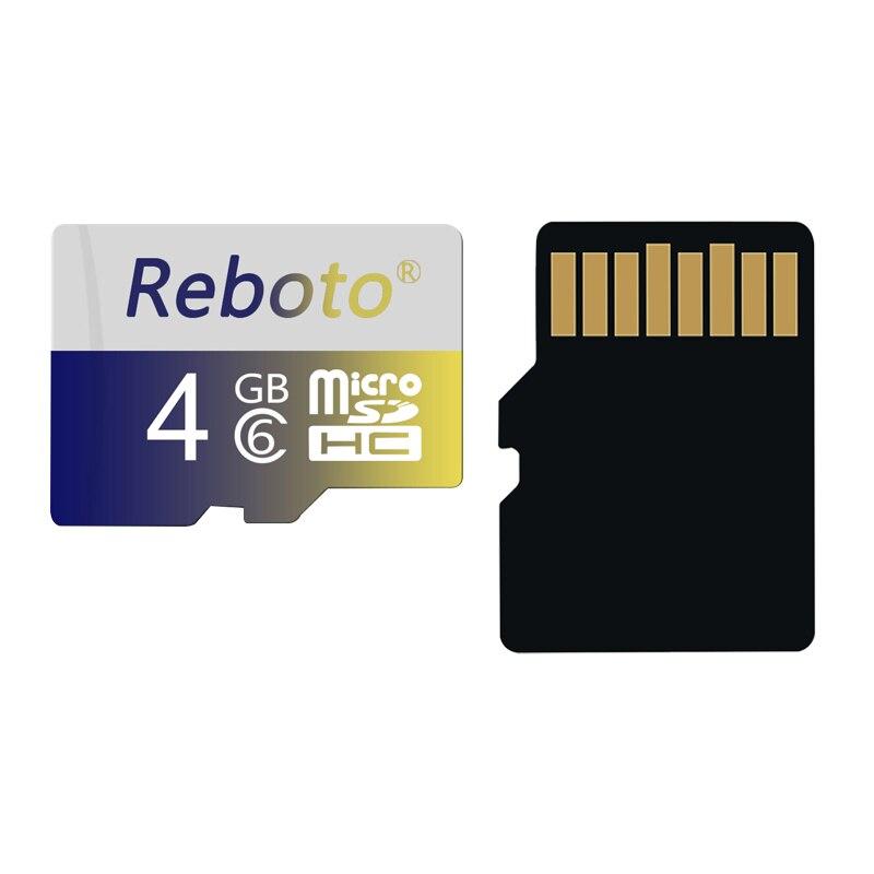 Reboto 2017 fashion Micro SD Card 8GB 16GB 32GB 64GB 128GB class 10 Memory card TF
