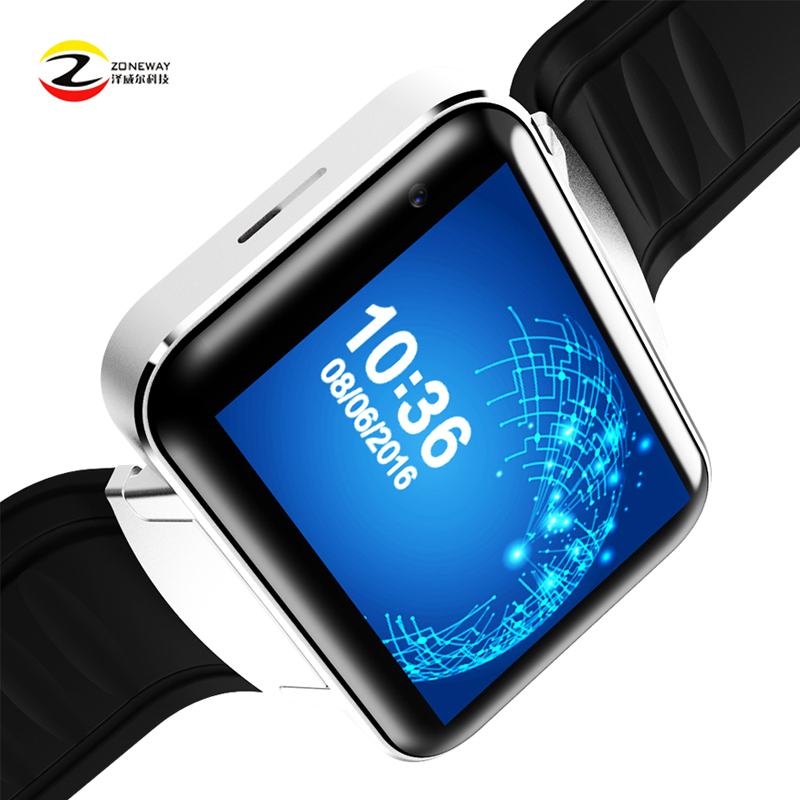 2pcsDM98 Smart watch MTK6572 Dual core 2.2 inch HD IPS LCD Screen 900mAh Battery 512MB Ram 4GB Rom Android 4.4 3G WCDMA GPS WIFI стоимость