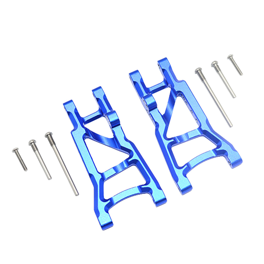 US $21 57 20% OFF|2019 For 1/10 Traxxas Slash 4x4 Aluminum Front / Rear  Suspension Left & Right A Arms Stampede Upgrade Parts of 3655x XO 1-in  Model
