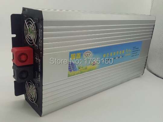 Digital Display <font><b>6000W</b></font> spitzen 3000W Power <font><b>Inverter</b></font> Reine Sinus Welle DC <font><b>12V</b></font> zu AC <font><b>220V</b></font> Solar <font><b>inverter</b></font> image