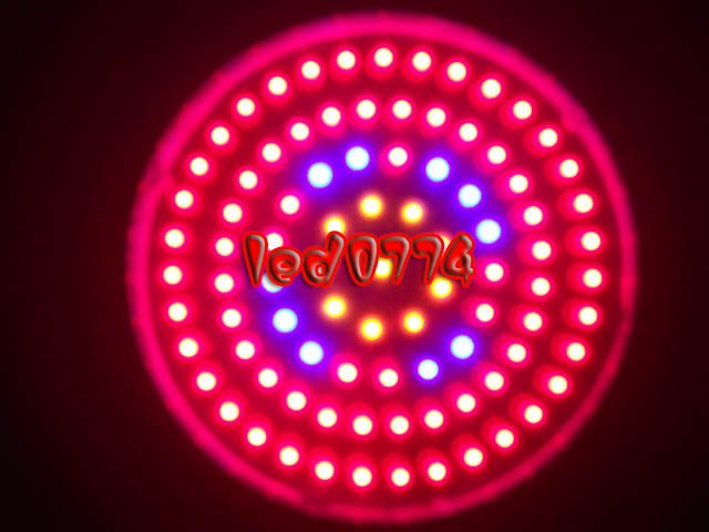 10 pcs a lot Grow Lights Tri-band red and blue and orange 630nm 460nm 610nm 90W Plant Grow Lamp freeshipping by DHL/fedex 90w led round grow lights light ratio 5 2 1 1 with the mixture of red blue orange white lights for indoor grow box