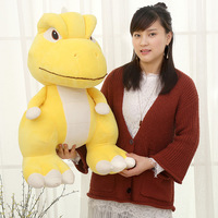 New Cute1pcs Japanese Anime Argonne dinosaur Plush Toy Soft Stuffed Yellow Dragon Baby Kids Birthday Gift