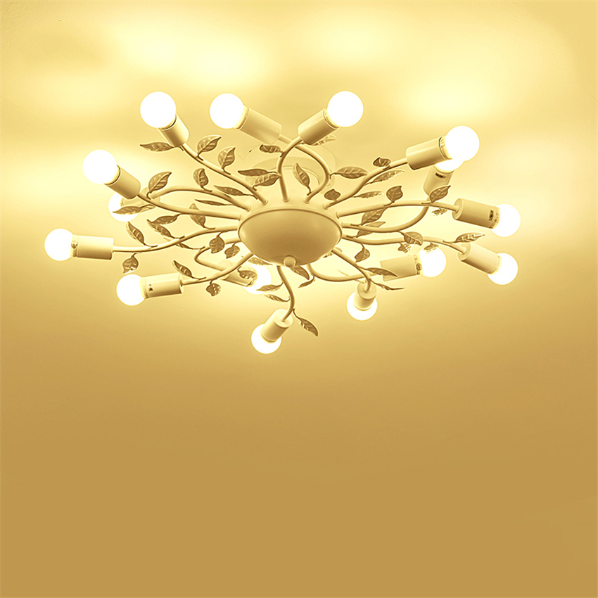 2019 Fashion Modern Lights Iron Led Chandelier Glass Hanging Bedroom Living Room Restaurant Hotel Rooms Pendant Lamps Deco Fixtures Luminaire Selling Well All Over The World