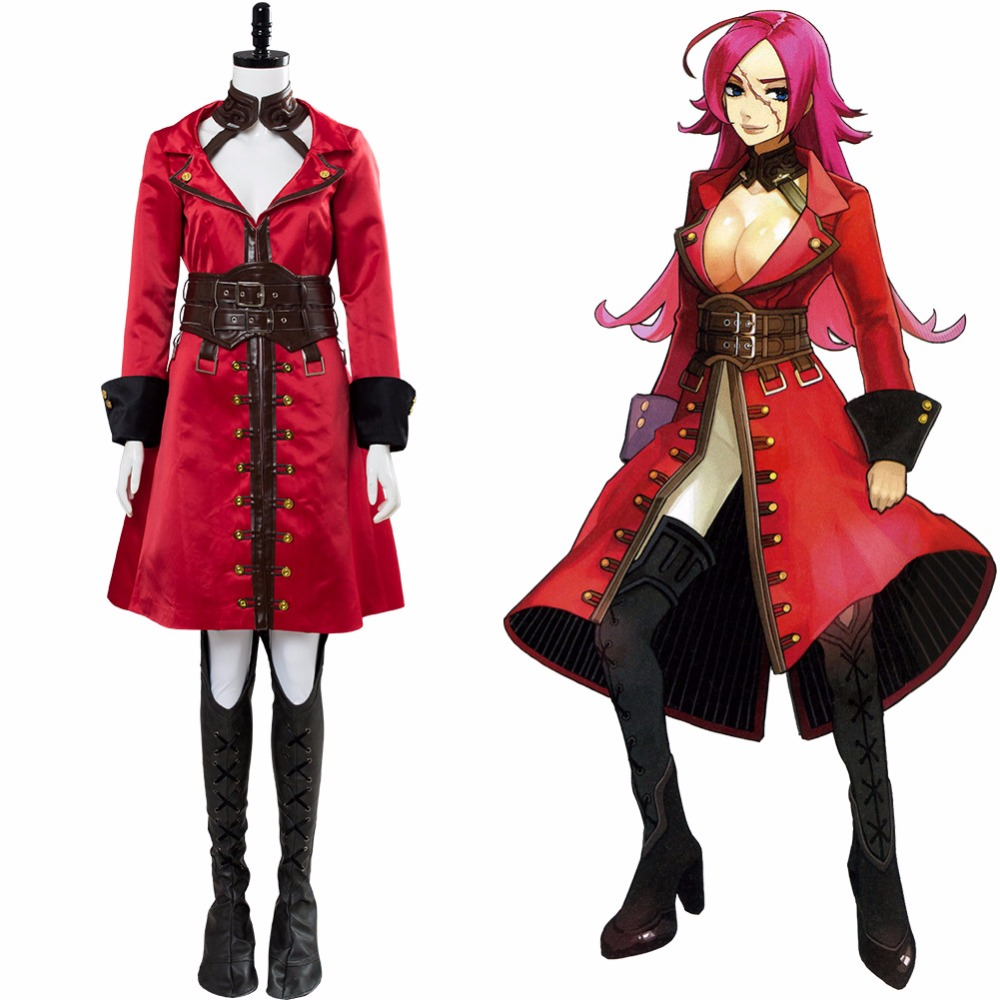 Custom Made Costume Fate EXTRA Last Encore Francis Drake Cosplay Costume Original Version Adult Halloween Carnival Cosplay image