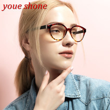 Youe brilhou Marca Tendência Óculos Mulheres Homens Quadro TR 90 Material de Armações de Óculos Da Moda