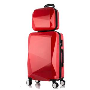 Suitcase-Set Cosmetic-Bag Trolley-Case Spinner-Luggage Travel-Bag Carry-On Woman 24inch
