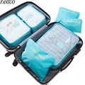6PCS Upgraded Version Large Women Travel Bags Hand Luggage Bag Packing Cubes Travel Duffle Bag Clothes Storage Organize Bags