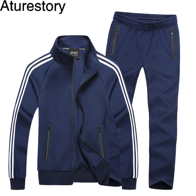 Couple Spring Autumn Sportswear Set Men Women Lightweight Tracksuit Lovers Morning Movement Track Suit Busos Para Hombre M-8XL