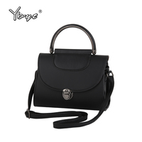 YBYT Brand 2016 Ladies Lock Vintage Casual Flap Bag Hotsale Simple Joker Fashion Handbags Women Messenger