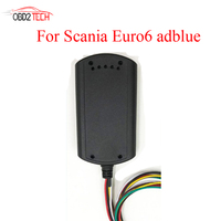 DHL Shipping Newest Euro 6 Adblue Emulator With NOx Sensor For Scania Trucks Support DPF System