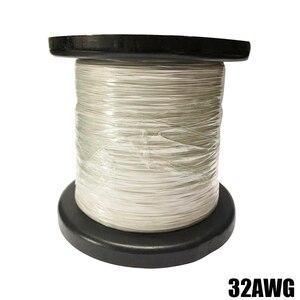 Image 4 - 50m26AWG 30AWG 32AWG 34AWG Teflo マイクロリッツ線はんだ電子ワイヤー高温抵抗線カベル