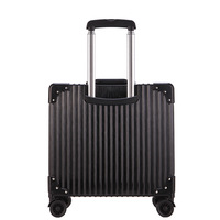 White Silver Pink Gold Black Aluminum frame and PC travel trolley case hardside rolling luggage suitcase