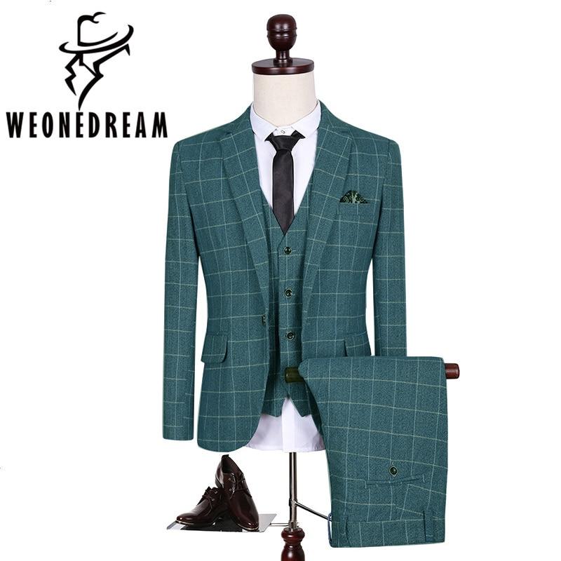 Jackets+Pants+Vest 3Pieces Men Latest Coat Pant Designs Wedding ...