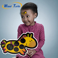 1 Unids Pegatina de Dibujos Animados de La Frente del LCD Termómetros Cuerpo Tira de Cabeza Fiebre Termómetros Termómetro Cuidado Del Bebé De Seguridad Para Niños
