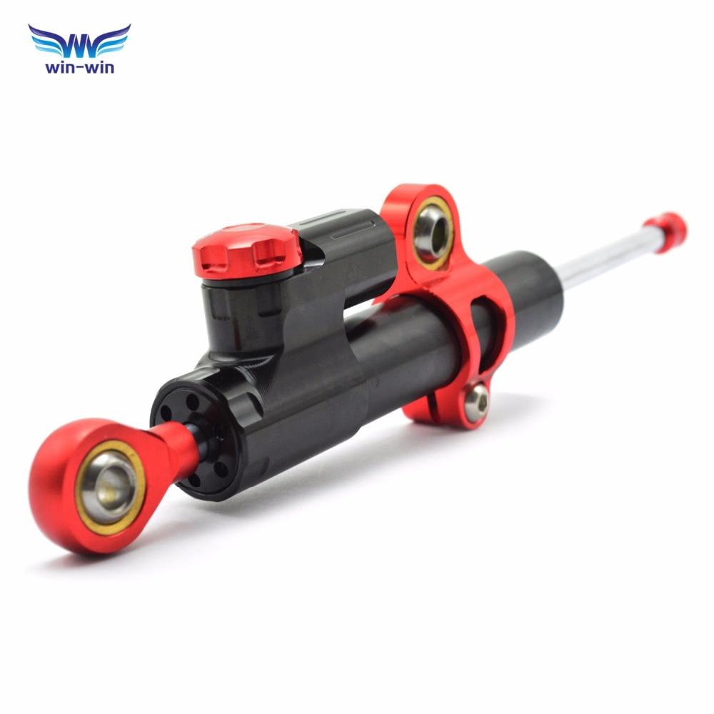 MT07 MT09 FZ MT 09 moto CNC Damper Steering Stabilizer Linear Reversed Safety Control Bike For CBR600RR 929RR cb400 dio hornet